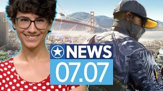 Ubisoft Forward Lineup steht & Watch Dogs 2 geschenkt - News