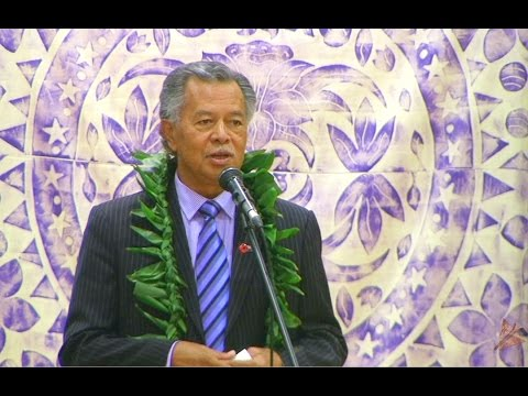 Te Maeva Nui 2015 - State Visit of Cook Islands PM & Executi