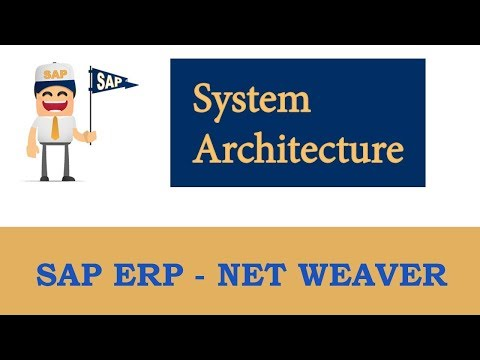 SAP System Architecture (overview)