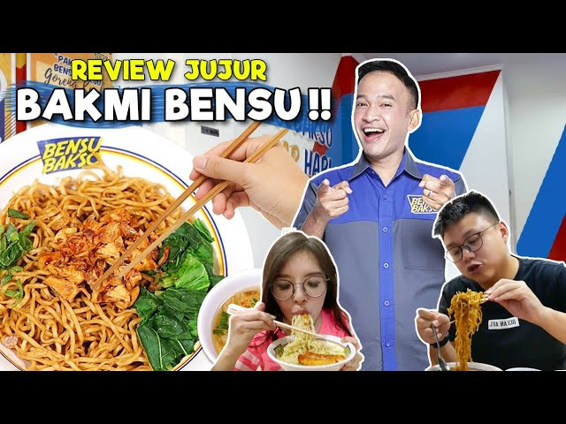 BAKMI BENSU by RUBEN ONSU !! ASAL BIKIN ATAU BENERAN ENAK ??