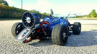 Jet Typhon 120+ MPH/ Hybrid Powered EDF Test