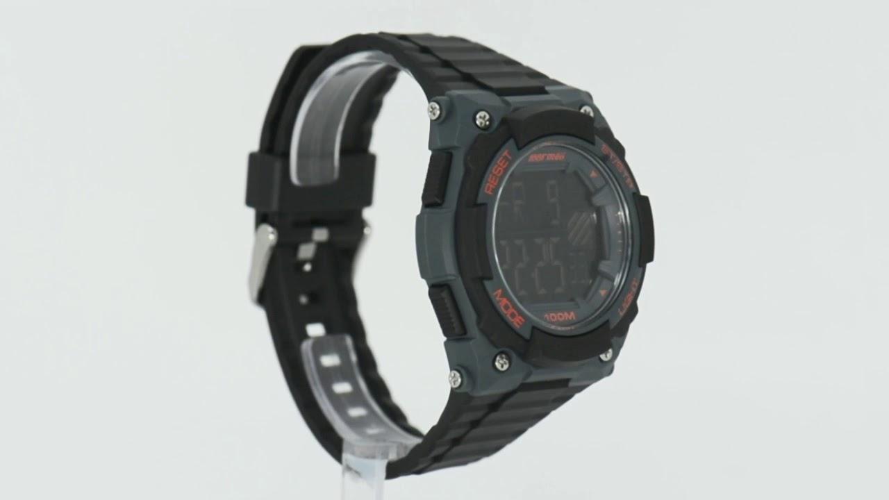 0ef0f7ed41737 Relógio Mormaii Masculino Wave MOY1551A 8L - Eclock - YouTube