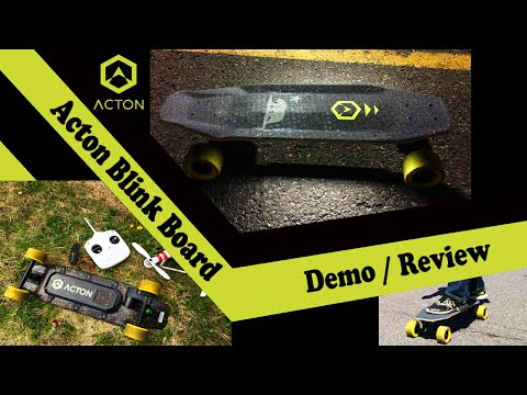 Acton Blink Board Demo/Review (NEW 2016 Electric Skateboard)