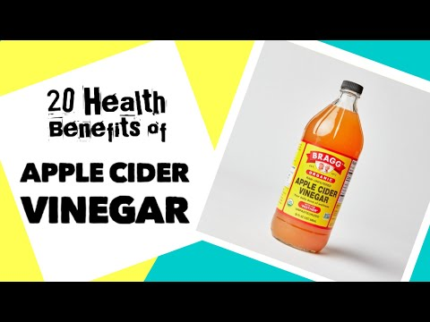 20 Health benefits of Apple Cider Vinegar