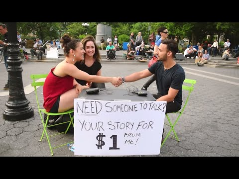New Yorkers Share their Story for a Dollar - Part 3