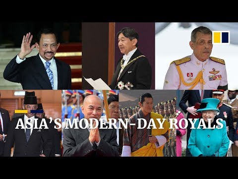 The Kings, Sultans, Raja, Emperor and Queen among today's Asian royals