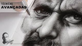 Vídeo Aula Desenho Realista / Técnicas avançadas - Charles Laveso