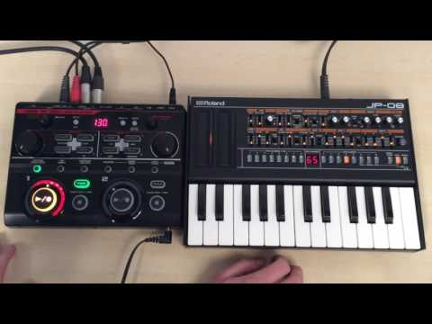Boss RC 202 And Roland JP 08 - Review & Demo
