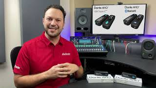 New Products: Dante AVIO USB C and Bluetooth Adapters