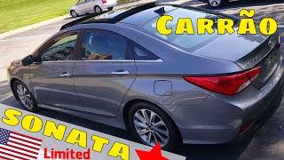 Carro de Patrão - 2014 Sonata Limited
