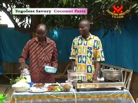 Tasty Togolese Savory Coconut Paste (In Ewe)