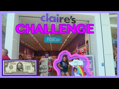 $50.00 DOLLAR CLAIRE'S CHALLENGE