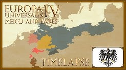 Europa Universalis 4 - The formation of Prussia - Timelapse (MEIOU and Taxes 2.0) [Part 1/2]