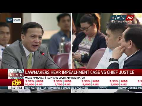 WATCH: House panel resumes hearing on Sereno impeachment complaint (Part 3)