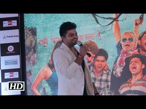 Suresh Raina sings Tu Mili Sab Mila   Live at Meeruthiya Gangsters music launch