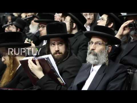 USA: 20,000 ultra-Orthodox Jews protest Israeli draft law in Brooklyn