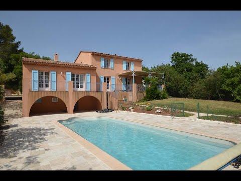 Ferienhaus mit privatem Pool in Vidauban, Provence. Komfortable und große Villa mit Pool in Var.