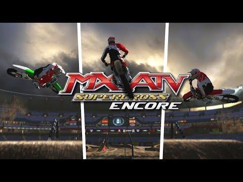 Some Big Lines In Supercross Encore! - MX vs ATV Supercross Encore!