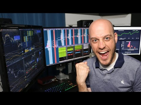 Choppy Trade As Earnings Season Starts Again.  Day Trading Futures Livestream. 13 Oct 2020