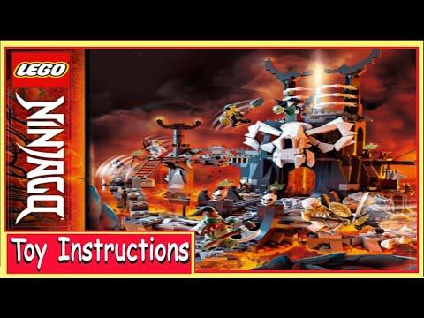 Lego® Bauanleitung für Ninjago Skull Sorcerer/'s Dungeons 71722 Neu