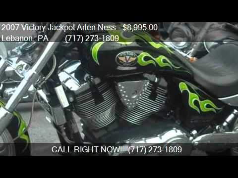 2007 Victory Jackpot Arlen Ness Arlen Ness For Sale In Leban Youtube