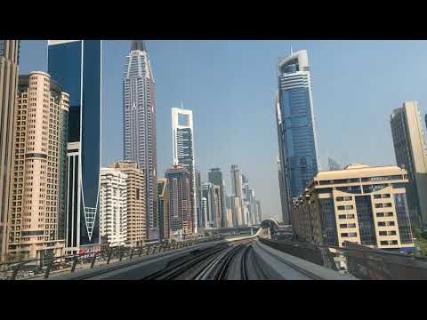 Metro Tour of Dubai 2020 | Which Metro Card is best for you. The Travel Psycho Videos |