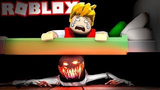 THERE'S A MONSTER UNDER THE BED IN ROBLOX!