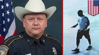 Texas cop killed in the line of duty: Harris county deputy shot to death at gas station - TomoNews