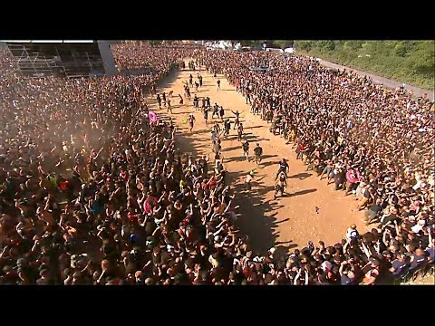 DAGOBA : HUGE WALL OF DEATH - HELLFEST 2014