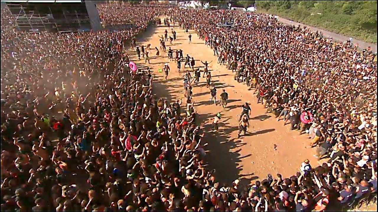 DAGOBA : HUGE WALL OF DEATH - HELLFEST 2014