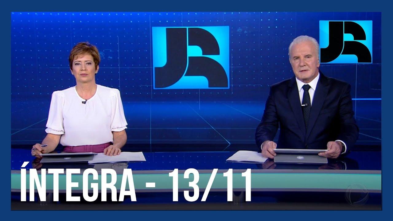 Download Assista à integra do Jornal da Record | 13/11/2020