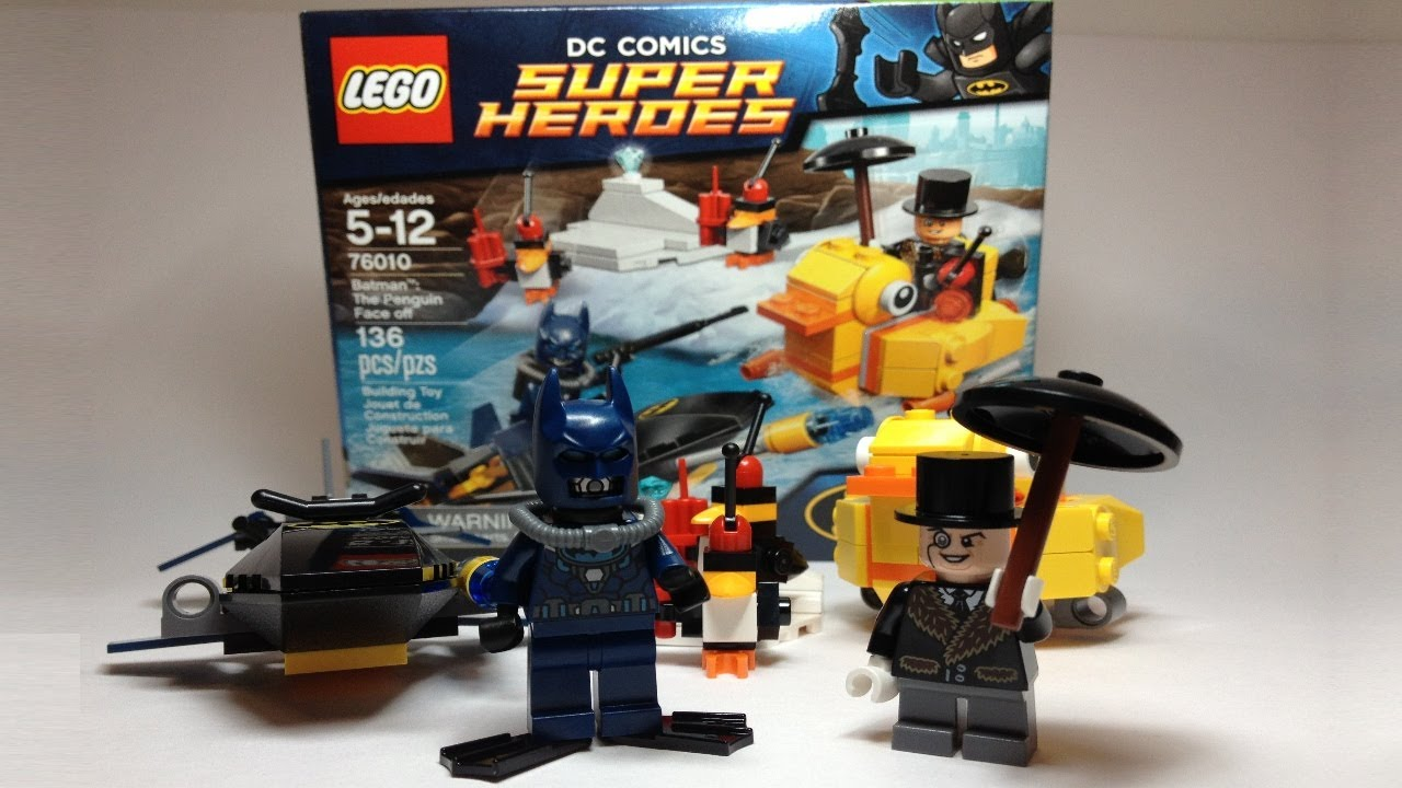 Lego Dc Super Heroes Batman The Penguin Face Off Review