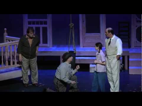 Death of Bob Ewell (Final Scene) - To Kill A Mockingbird - Thalian - bob ewell to kill a mockingbird