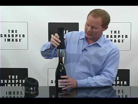 The Sharper Image Wine Opener Youtube