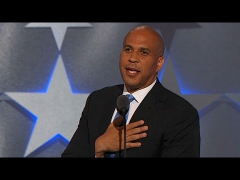 Corey Booker's entire Democratic convention speech