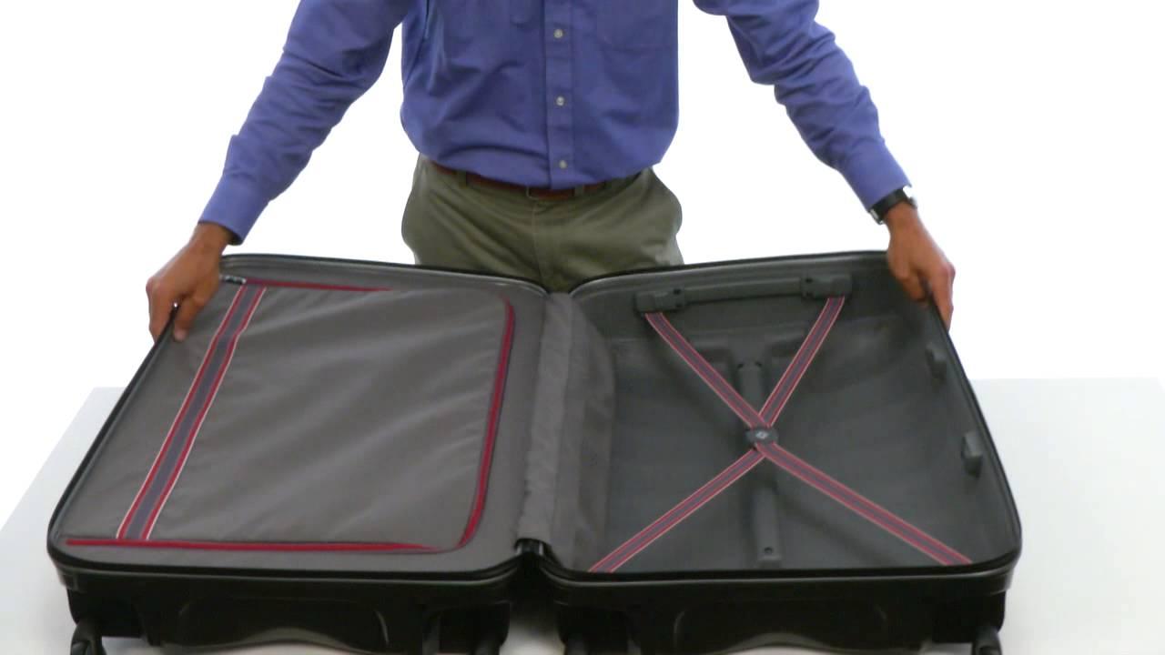 samsonite firelite spinner 75 28 sku 8335990 youtube. Black Bedroom Furniture Sets. Home Design Ideas