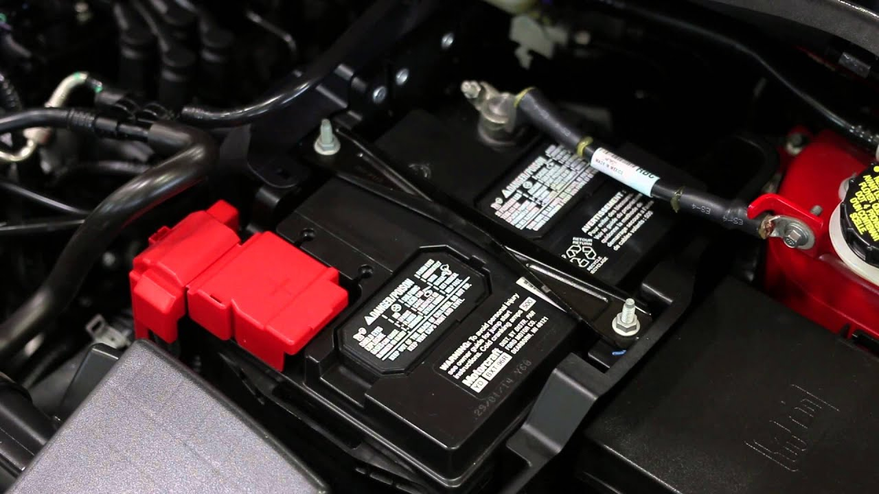 How To Rmove Car Battery Ford Ranger
