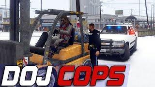 Dept. of Justice Cops #612 - Construction Equipment Violations