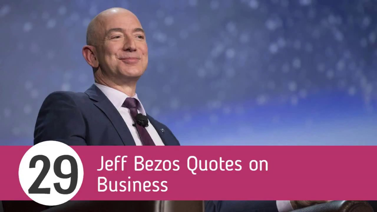 29 Jeff Bezos Quotes On Business Sameer Gudhate Youtube