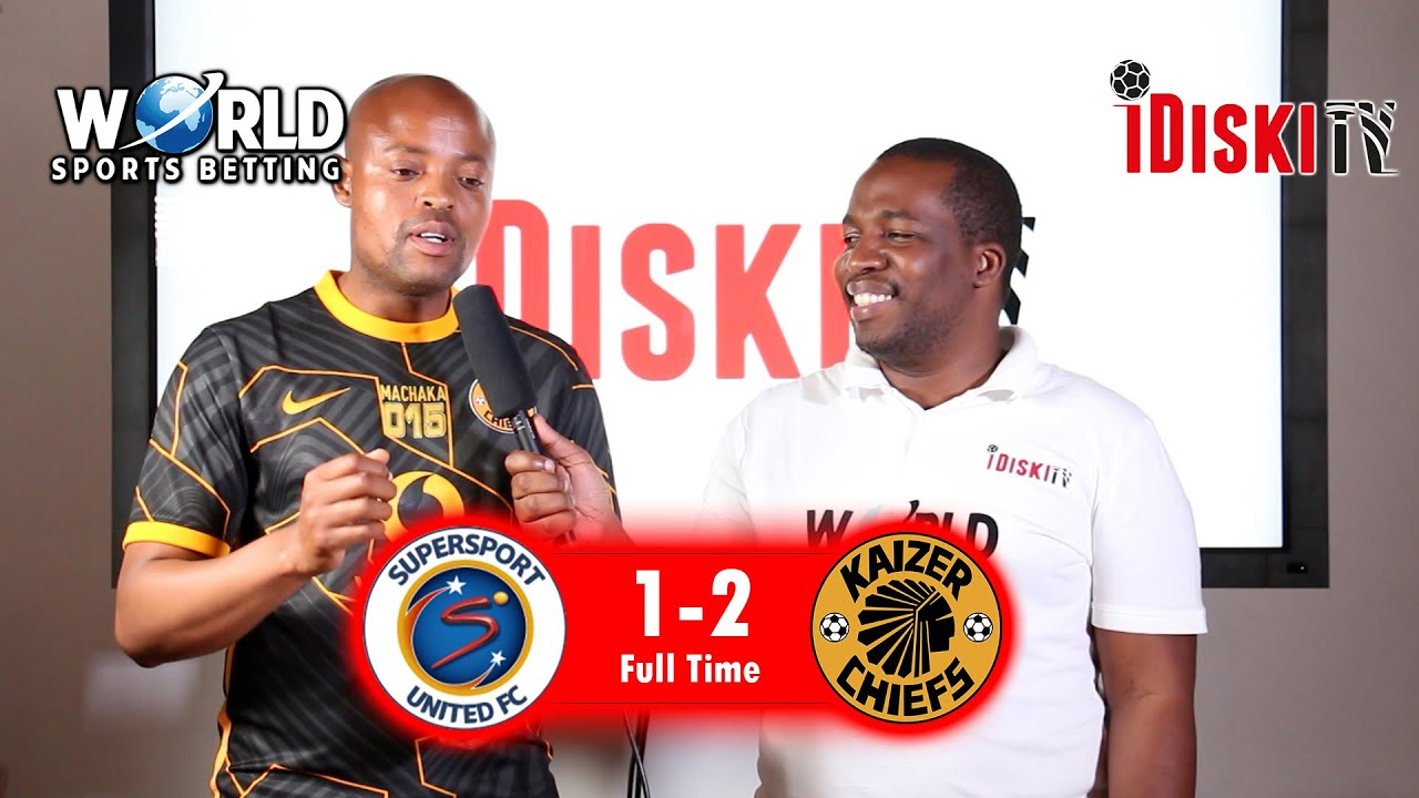 Download Supersport 1-2 Kaizer Chiefs   We Need To Better, Good Win   Machaka