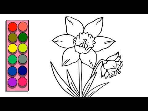 how-to-draw-and-color-flowers-!!-flower-coloring-page-for-kids-!-flower-drawing-and-coloring