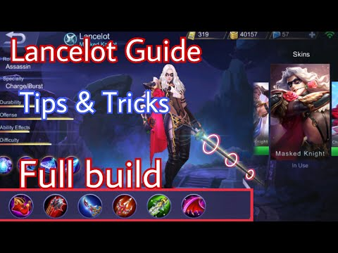 Lancelot Guide   How To Use Lancelot Like A PRO   Mobile Legends