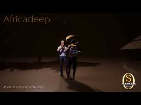 African CGI Project AFRICADEEP - by Kimeu