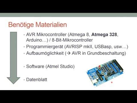 [Mikrocontroller, Teil 1] ATMega8 Basics & erste ...