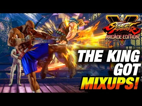 SFV AE * The KING Got MIXUPS! / Sagat Highlights