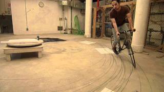 Locus of Momentum: Bicycle Drawing by Kentaro Fujioka