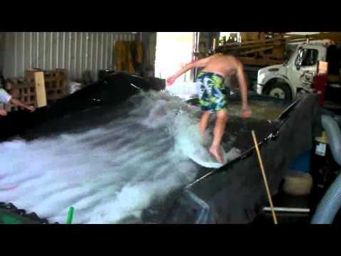 Home Made Flowrider Take 10 Wmv Youtube