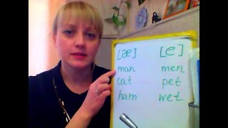 """Lesson 3 Звуки, похожие на русский звук """"Э"""""""