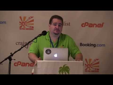 2016 - Welcome to The Perl Conference / Perl Foundation / SOTV  - Dan Wright