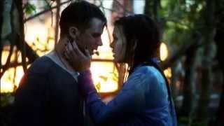 Star-Crossed - Emery & Roman Kiss Scenes (1x07) [Lake & Hospital]